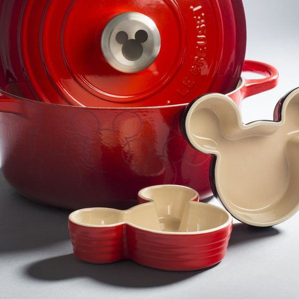 You're Gonna Want Every Piece of Le Creuset's Mickey Mouse Line