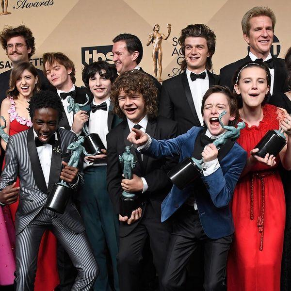 These 'Stranger Things' Stars Had Matching 'Dos on the 2018 SAG AwardsCarpet