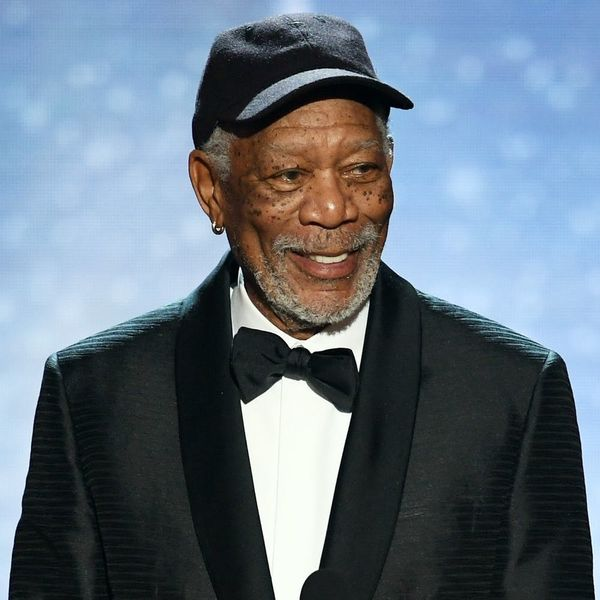 This Is Who Morgan Freeman Stopped to Talk to During His 2018 SAG Awards Speech