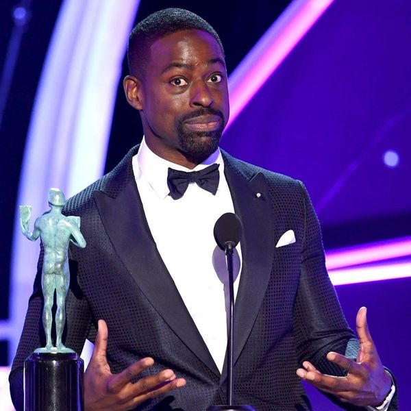 'This Is Us' Star Sterling K. Brown Made History at the 2018 SAG Awards