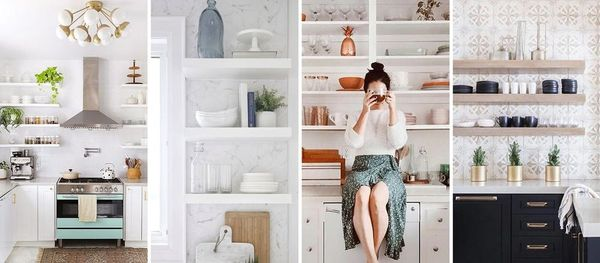 15 Times Instagram Proved That Open Shelving Is Still IN