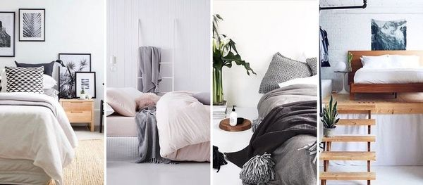 10 Minimalist Bedrooms We Spotted on Insta