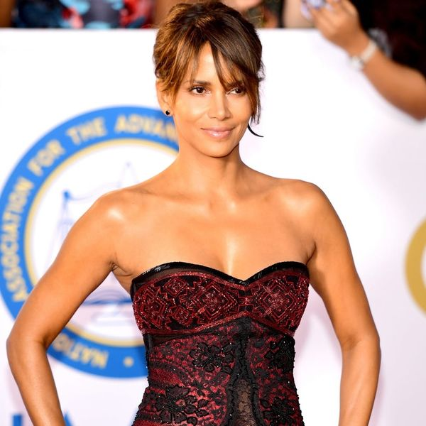 Halle Berry Gives the Kardashians a Run for Their Money in This Naked Dress