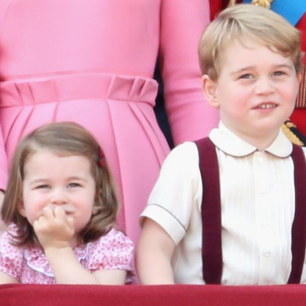 Princess Charlotte Looks After Prince George, According to Queen Elizabeth
