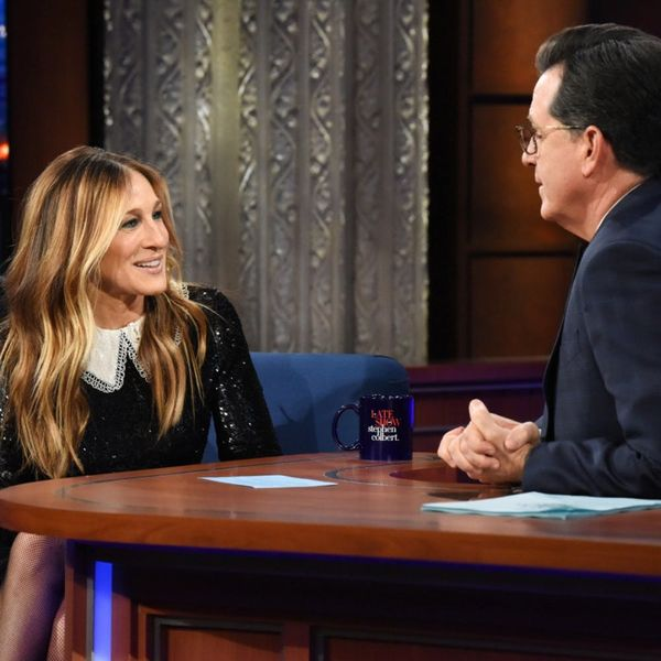 Sarah Jessica Parker Offers Kim Cattrall's 'Sex and the City' Role to Stephen Colbert