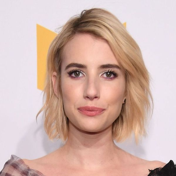 Emma Roberts Debuted the Most Dramatic Fringe on the 2018 Critics' Choice Awards Carpet