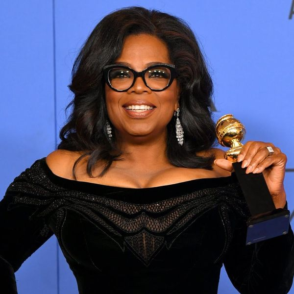 Oprah Winfrey Had Even *More* Wisdom to Share Backstage at the Golden Globes