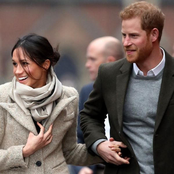 Prince Harry and Meghan Markle Are All Smiles at Their First Royal Engagement of 2018