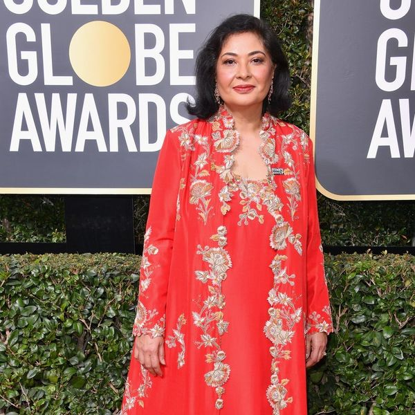 Here's Why This Golden Globes Attendee Decided Not to Wear Black