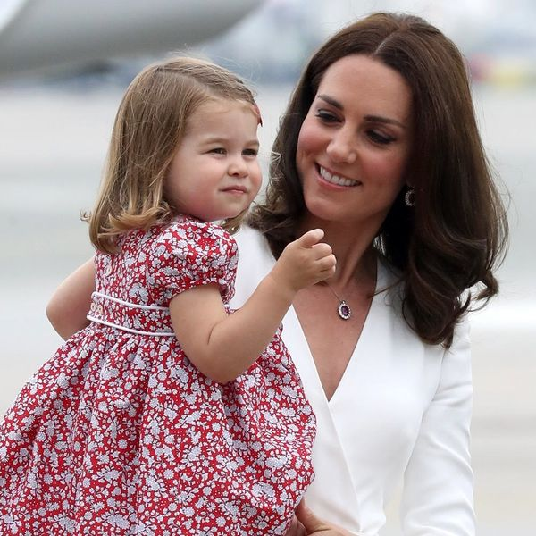 See the Pics Duchess Kate Took of Princess Charlotte on Her First Day of Nursery School
