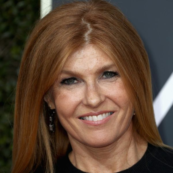 Connie Britton Ditched a Golden Globes Gown in Favor of This Sweater With a Cause