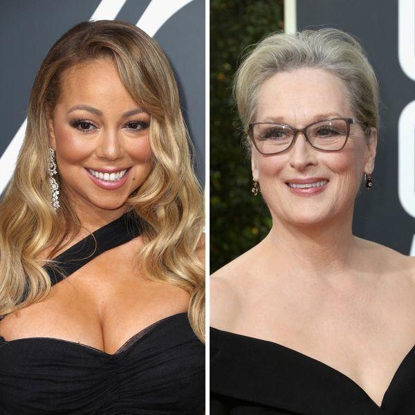 Mariah Carey Accidentally Stole Meryl Streep's Golden Globes 2018 Seat