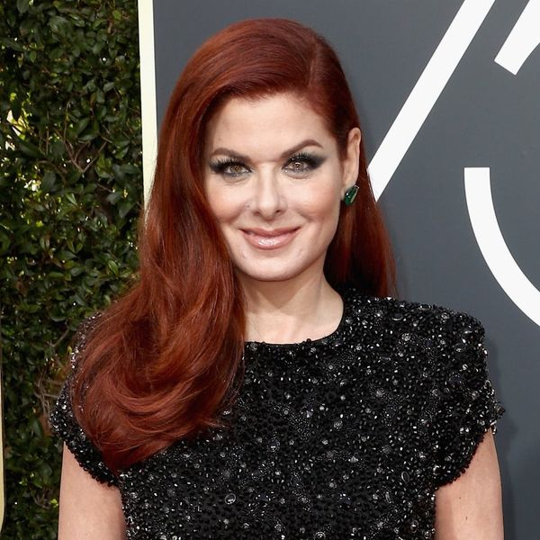 Debra Messing Calls Out E! Over Catt Sadler Pay Disparity on the Golden Globes Red Carpet