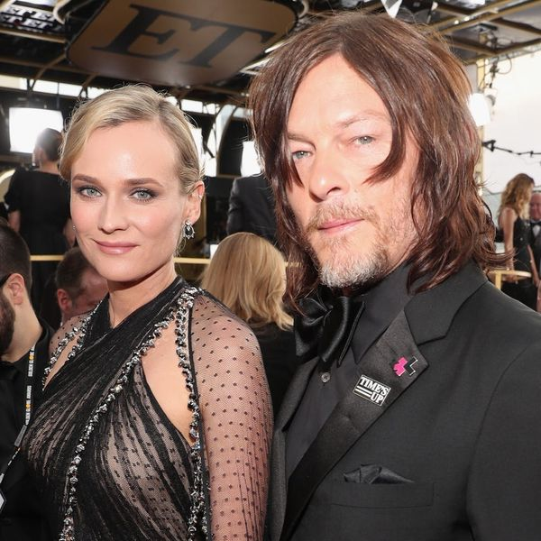 Diane Kruger and Norman Reedus Made Their Red-Carpet Debut at the 2018 Golden Globes