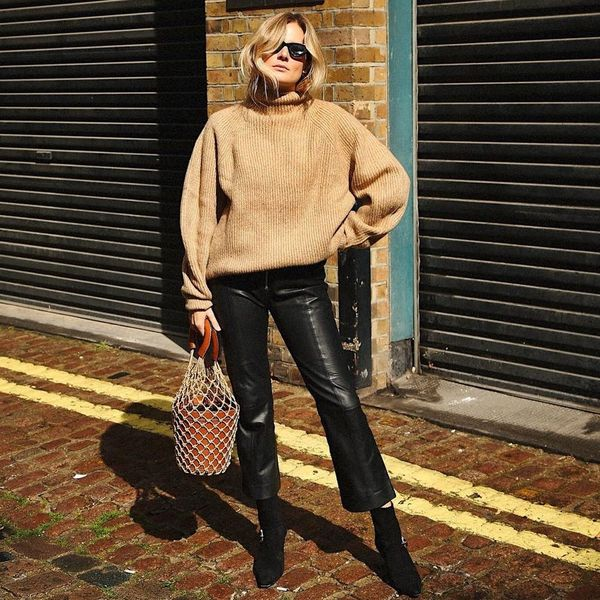 The Street Style-Approved Way to Wear Cropped Flare Pants RN