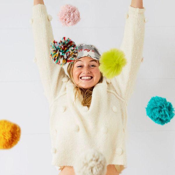 12 Playful Pom-Pom Sweaters to Snag RN