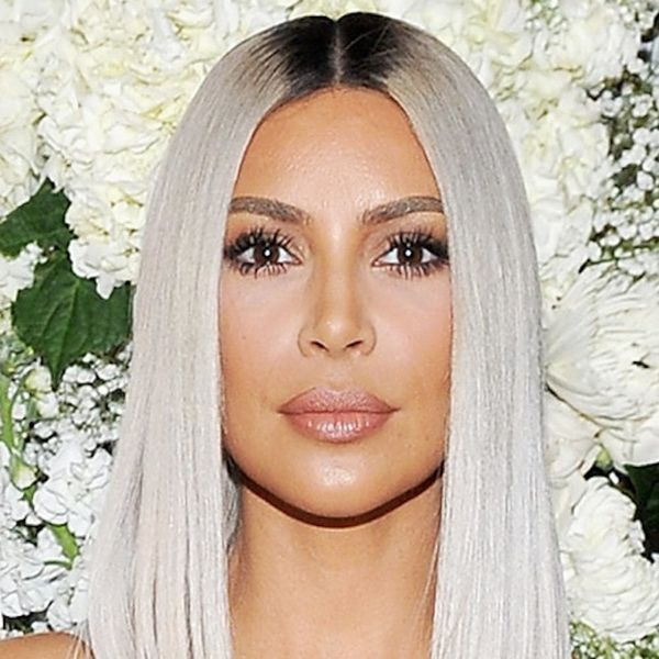 Kim Kardashian West Looks Like a Total Ice Queen With Her New BLUE Locks
