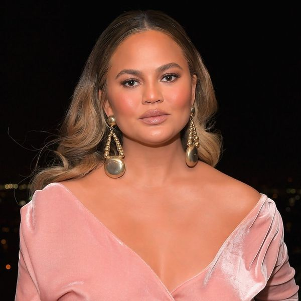 Chrissy Teigen Refusing to Admit That Christmas Is Over Is All of Us