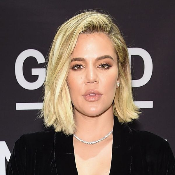 Khloé Kardashian's Curly NYE 'Do Is Party Hair Goals