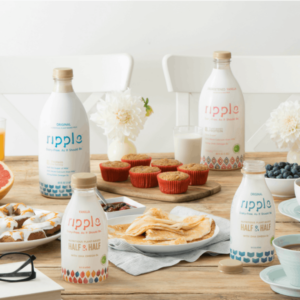 Ripple Is Making Waves With Its Tasty, Protein-Rich Pea Milk