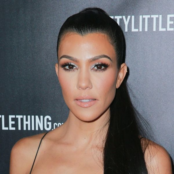 Kourtney Kardashian (Sort Of) Explains Why Kylie Jenner's Not in the Most Recent Family Pic