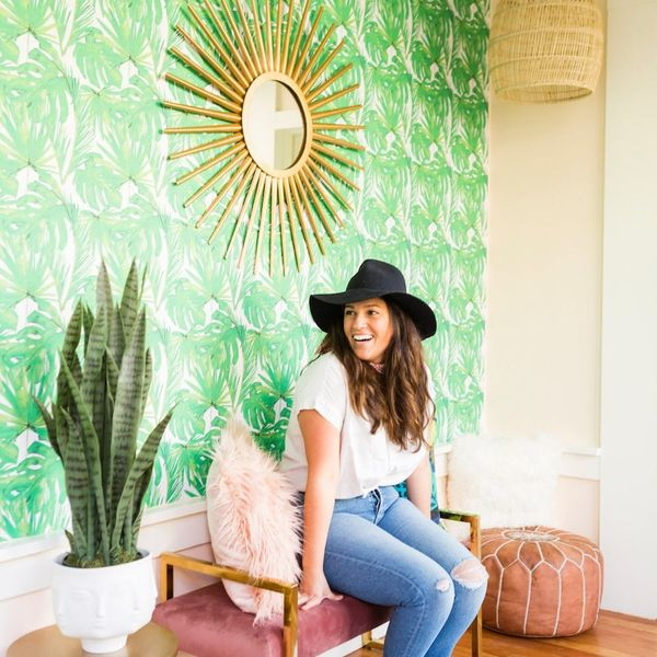 A Small Space Makeover That's All About Those Vacay Vibes