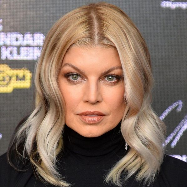 Fergie Is Rocking a Goth New Look Complete With Raven Locks