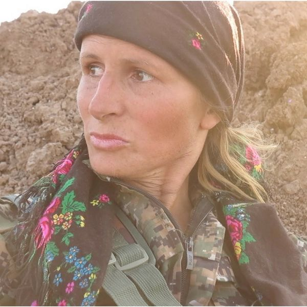 This Canadian Ex-Model Joined an All-Women Army to Fight ISIS in Syria