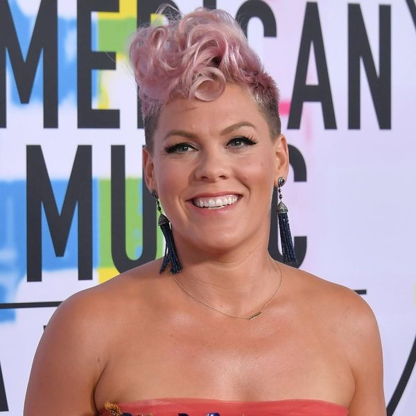 Pink Cried With a Mom in a Supermarket for the Sweetest Reason