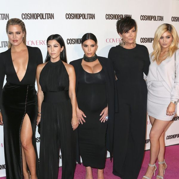 The Jeans from the Kardashian Christmas Card Are a Lot More Affordable Than You Think