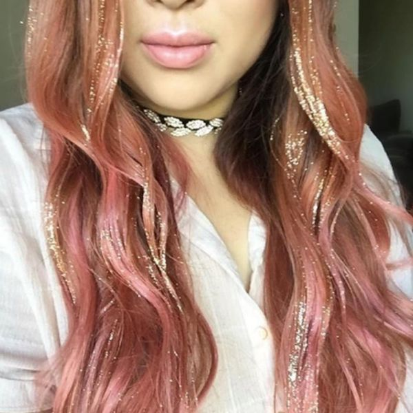 Glitterage Is the Only Hair Trend You Need to Know About for 2018
