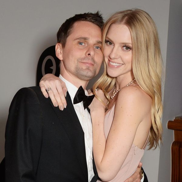 The Engagement Ring Muse's Matt Bellamy Gave Model Elle Evans Is Picture Perfect