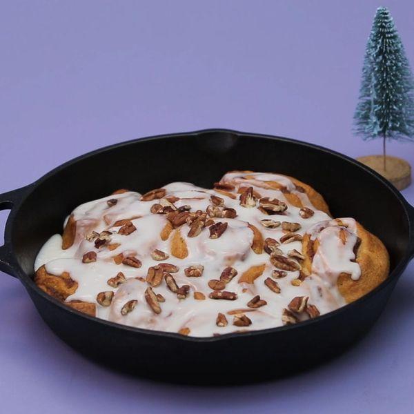 DIY Sweet Potato Cinnamon Rolls
