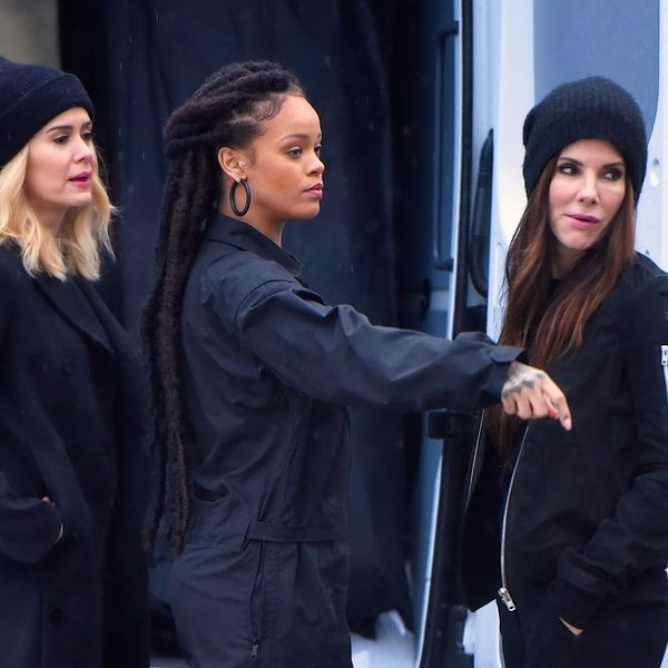 Here's Your First Look at Sandra Bullock, Rihanna, Mindy Kaling and More in Ocean's 8
