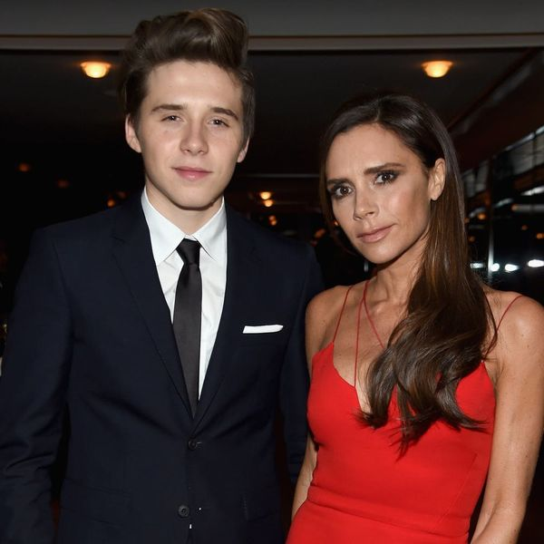Victoria Beckham Teases Brooklyn (and Chloë Grace Moretz) About His 'Dennis the Menace' Hair
