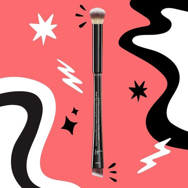 How I Use One Single Eye Makeup Brush 4 Different Ways