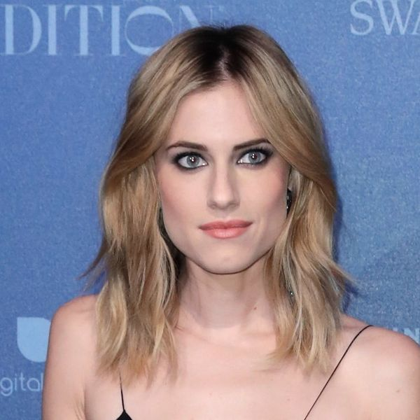 Allison Williams Has Ditched Her Signature Blonde Locks for Her Natural Brunette Hue