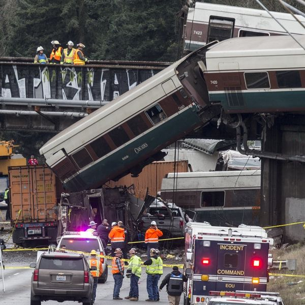 The Derailed Amtrak Train in Washington Was Going 50mph Over the Speed Limit