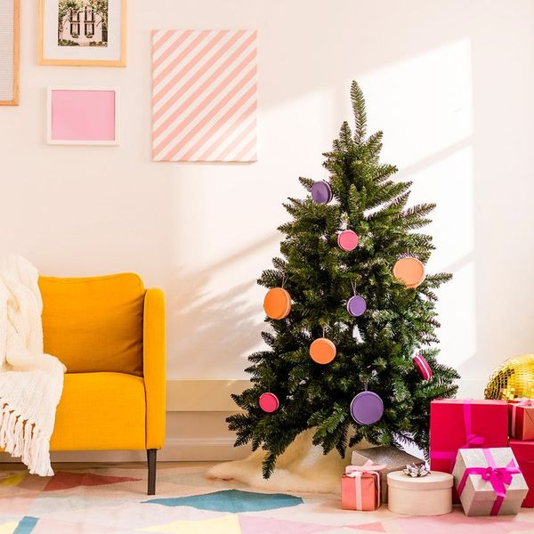 These Quirky Christmas Trees Were MADE for the Color Lover