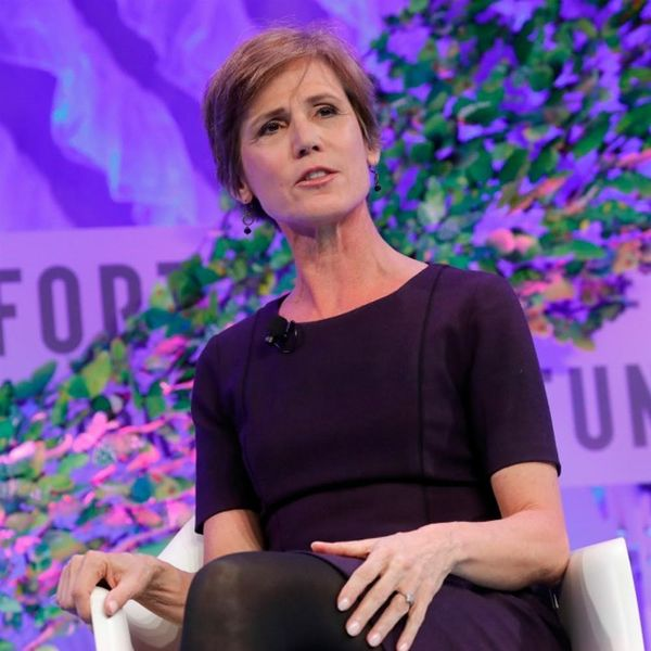 Former Acting Attorney General Sally Yates Is the Hero We Need and Deserve