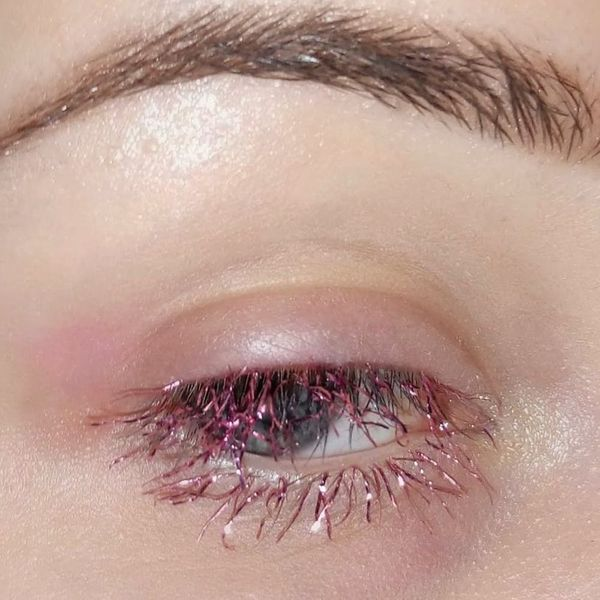 Tinsel Lashes Are the Latest Festive Holiday Beauty Trend You Need to Try