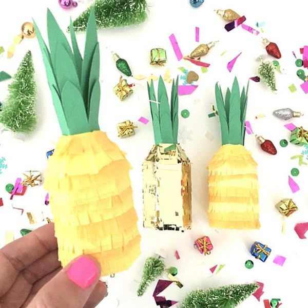 Pineapple Christmas Decor That Sings Mele Kalikimaka