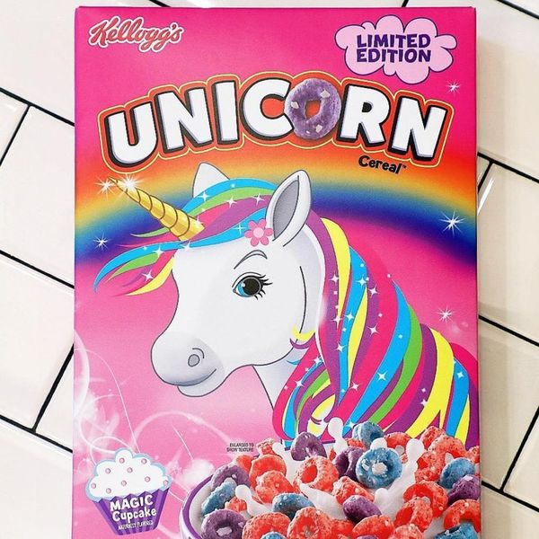 Unicorn Cereal Is About to Take Over Our Cupboards and OMG