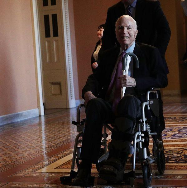 Senator John McCain Will Miss Tax Bill Vote Because of Cancer Treatment
