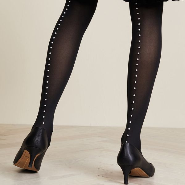 14 Party-Ready Tights That'll Save You on NYE