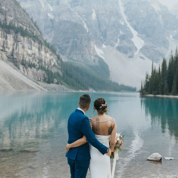 This Banff Elopement Is the Destination Wedding of Our Dreams