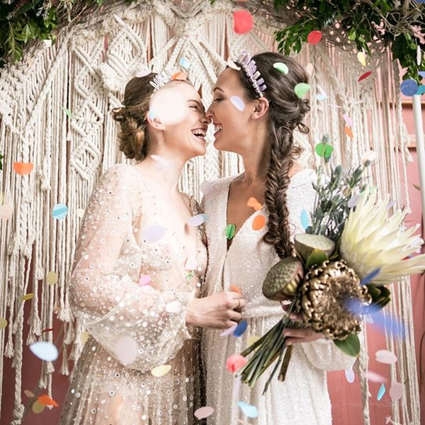 This Gorgeous LGBTQ+ Bridal Magazine Will Make You Believe in Love Again