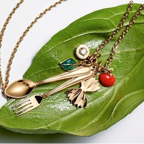 Alison Lou's Latest Jewelry Collection Is Made for Pasta Lovers