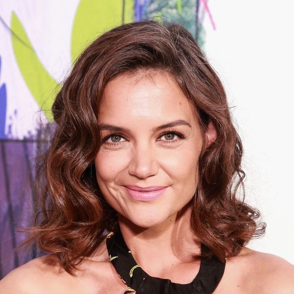 Katie Holmes Debuted a Bangin' Change To Her Pixie Cut