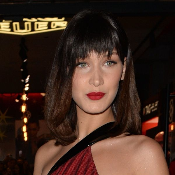 Bella Hadid Just Channeled Her Inner Mrs. Claus With This Killer Holiday Ensemble